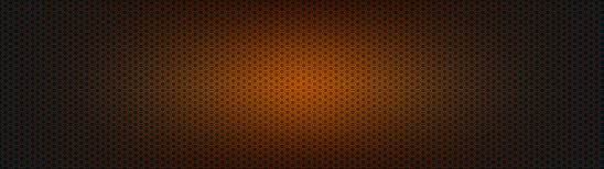 hexagon pattern orange and black dual monitor wallpaper
