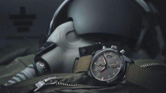 iwc pilot chronograph top gun miramar watch uhd 4k wallpaper