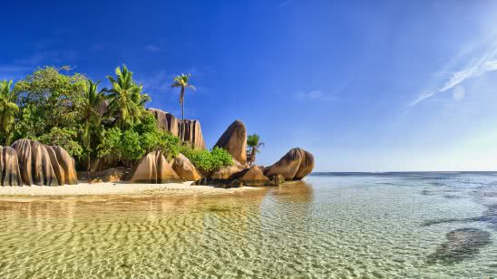 la digue beach seychelles east africa uhd 4k wallpaper