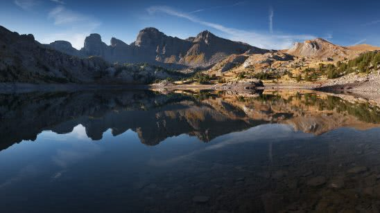 lac d allos mercantour national park france uhd 4k wallpaper