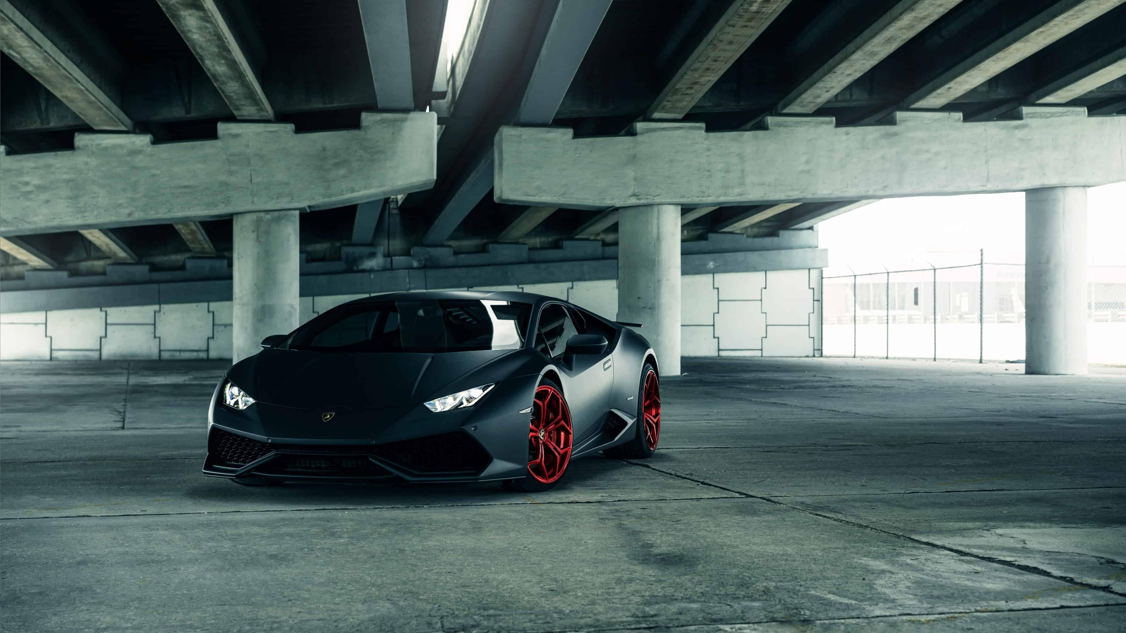 Lamborghini Huracan Black Uhd 4k Wallpaper Pixelz