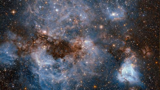 large magellanic cloud lmc uhd 4k wallpaper