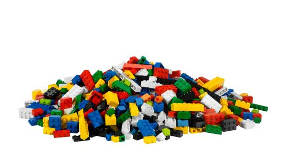 lego pile uhd 4k wallpaper