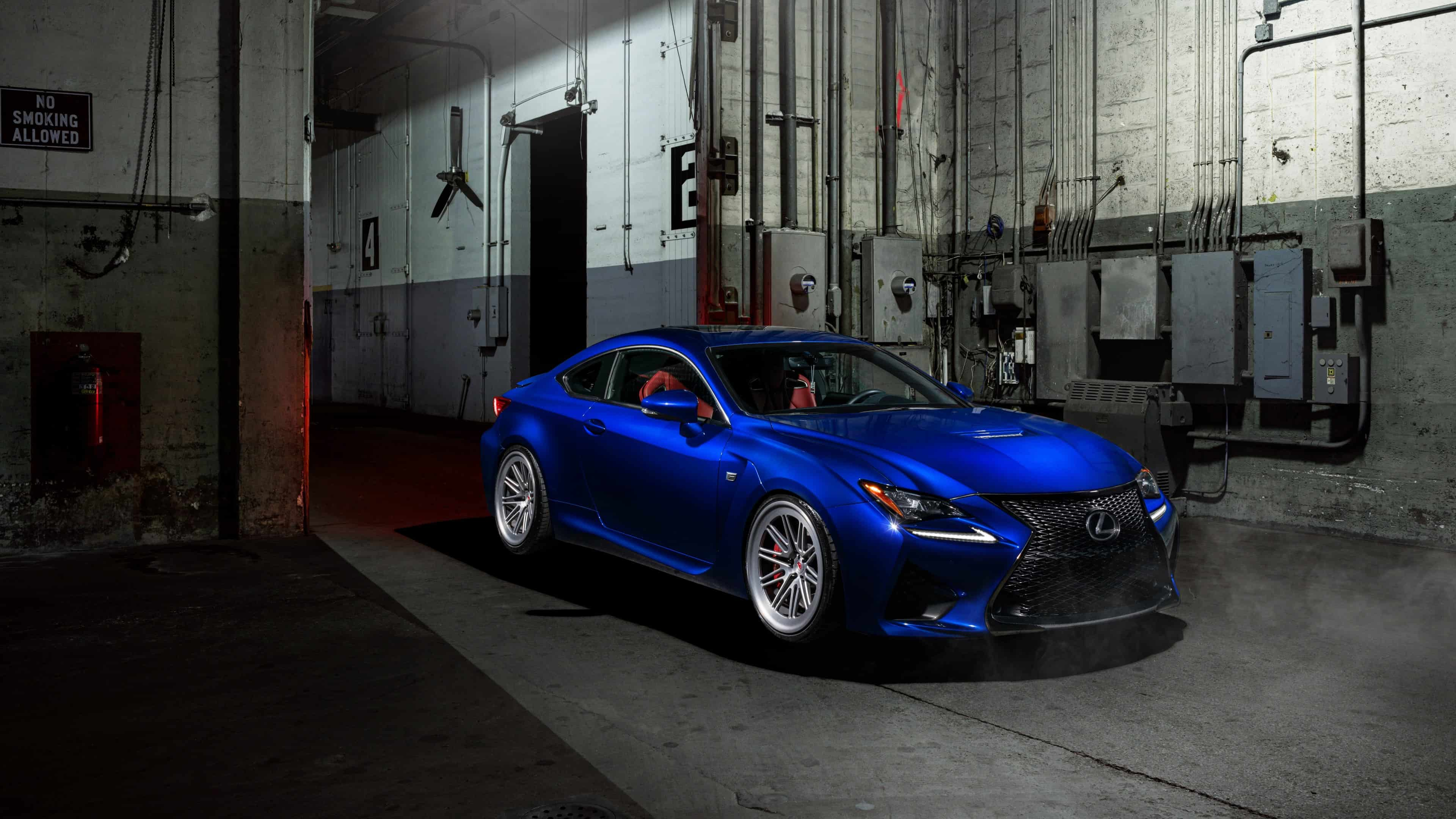 lexus rc f blue uhd 4k wallpaper