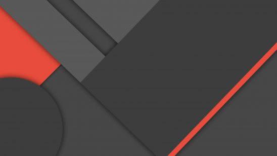 material design black and red uhd 4k wallpaper