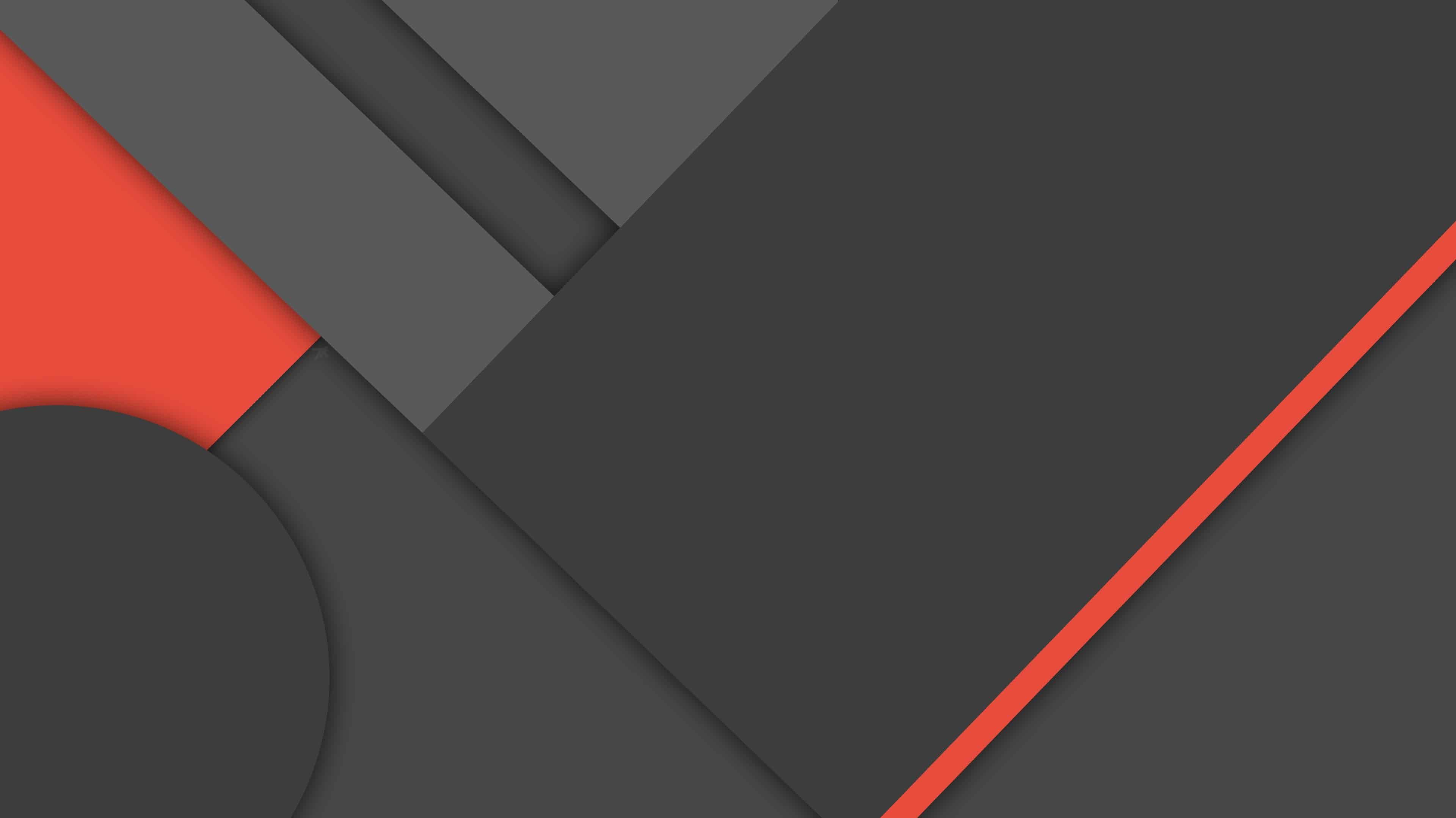 Material Design Black And Red Uhd 4k Wallpaper Pixelz
