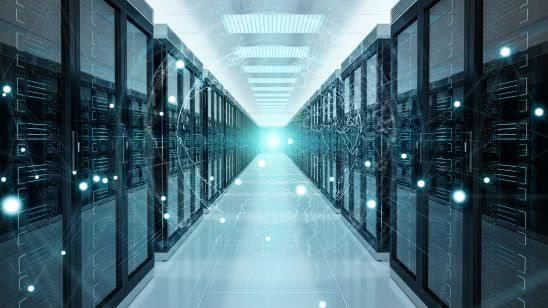 modern data center uhd 4k wallpaper