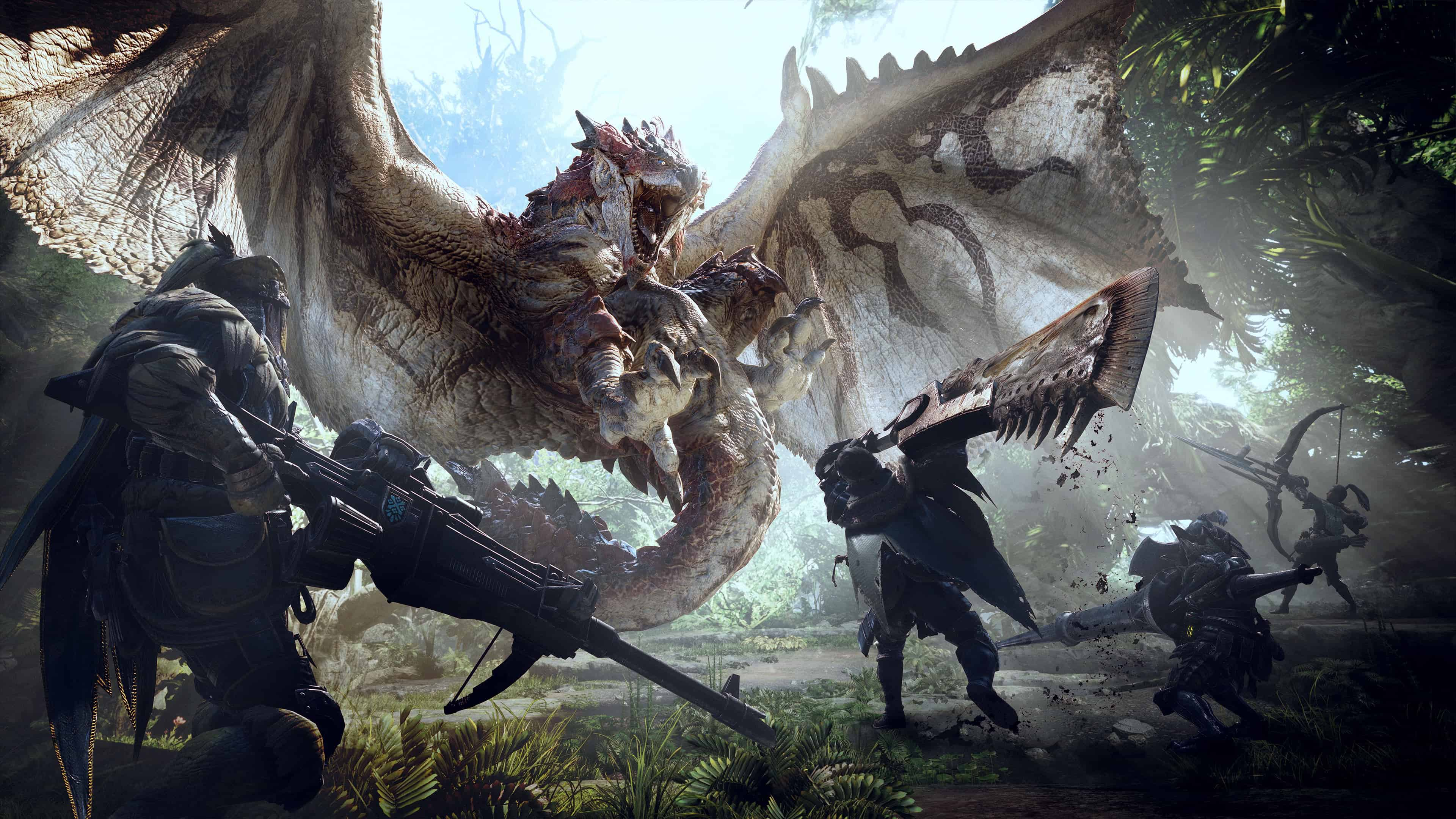 Monster Hunter World Pc Uhd 4k Wallpaper Pixelz