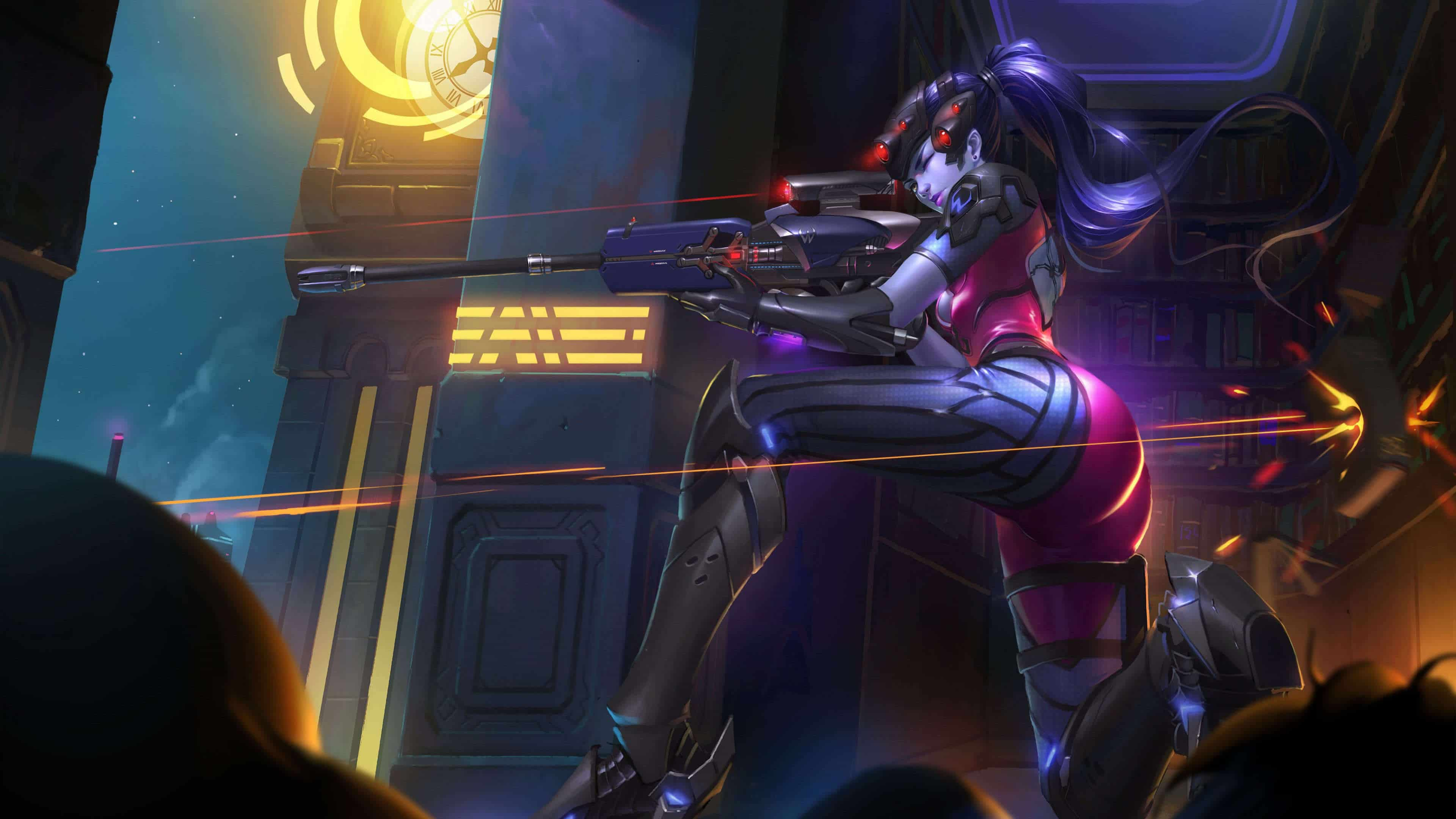 overwatch wallpaper widowmaker