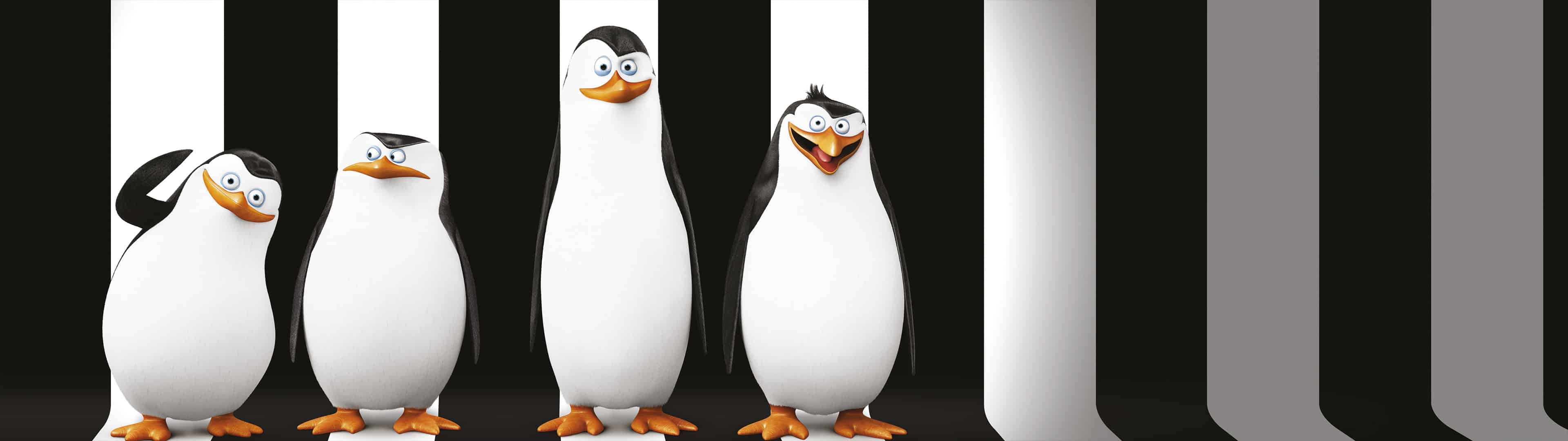 penguins of madagascar dual monitor wallpaper