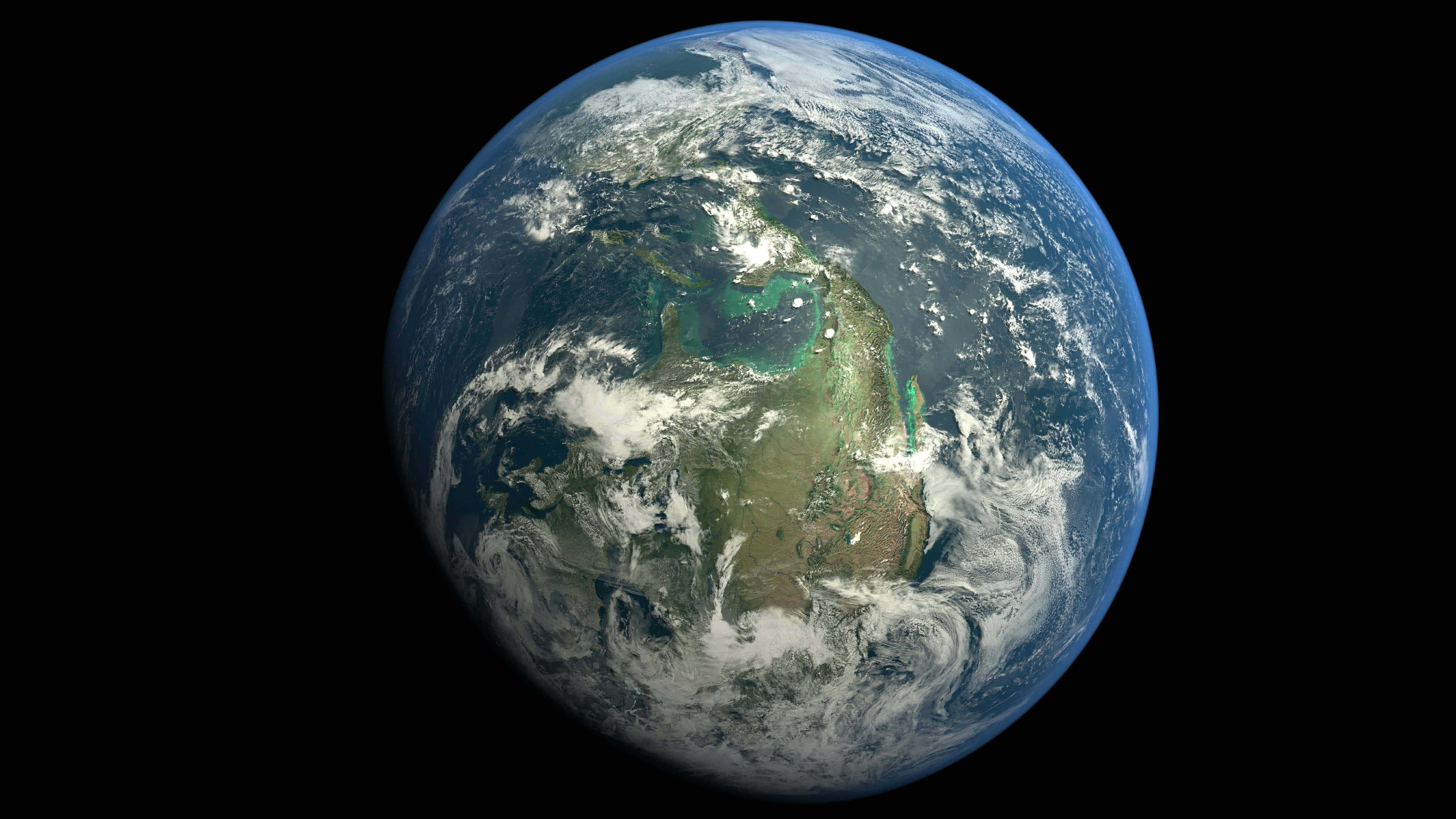 Planet Earth From Space Uhd 4k Wallpaper Pixelz