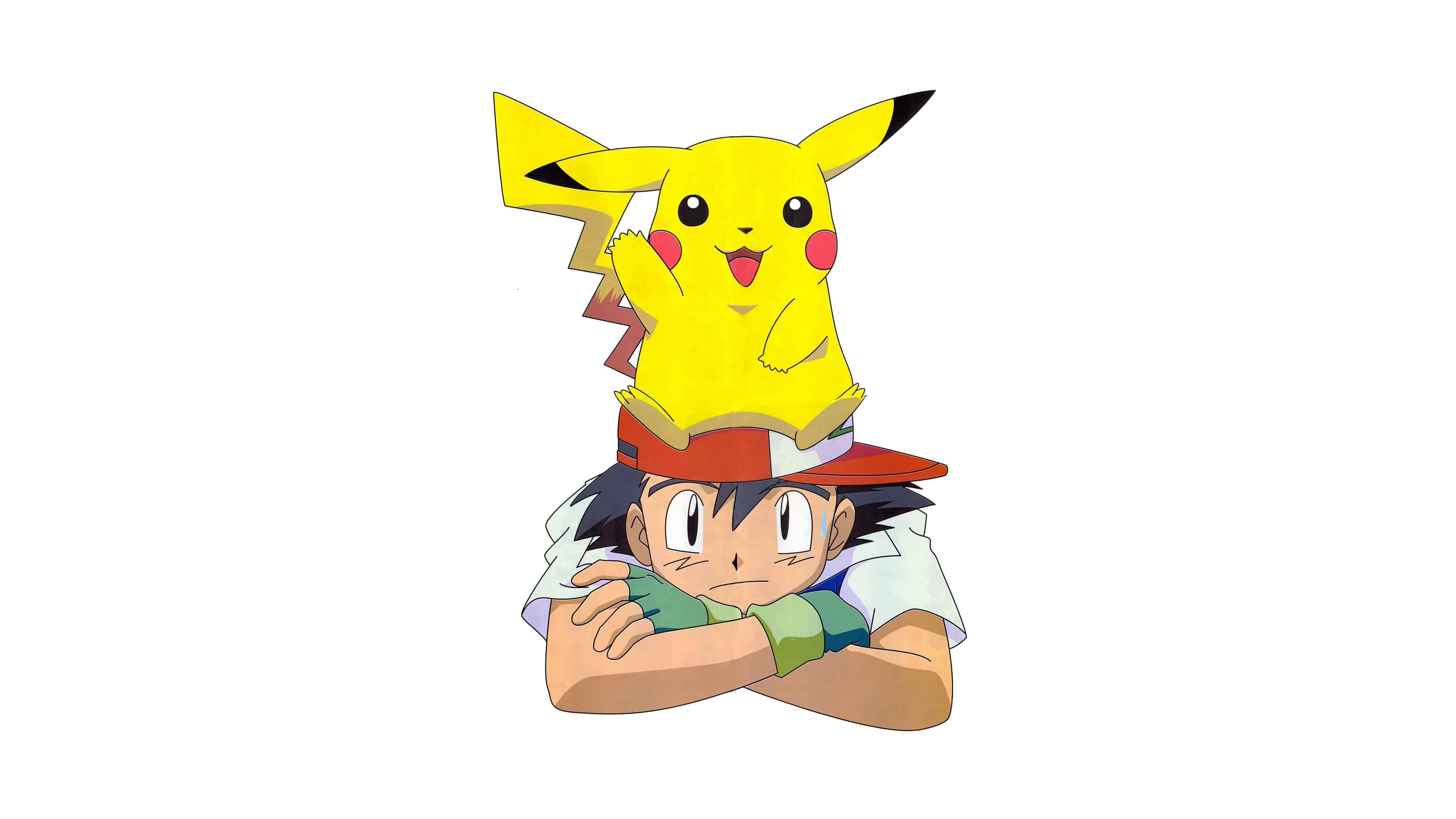 pokemon pikachu and ash uhd 4k wallpaper