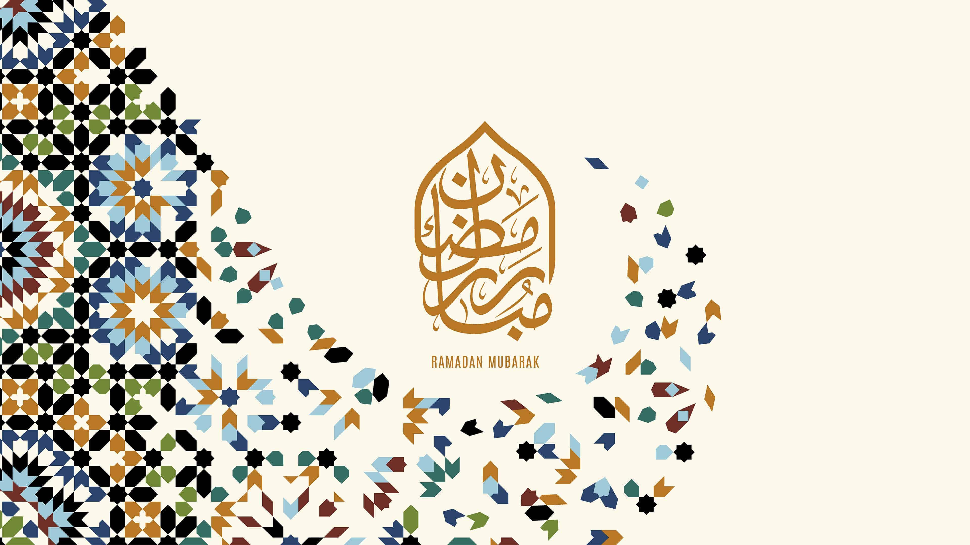 ramadan mubarak uhd 4k wallpaper