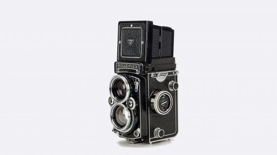 rolleiflex antique tlr camera uhd 4k wallpaper