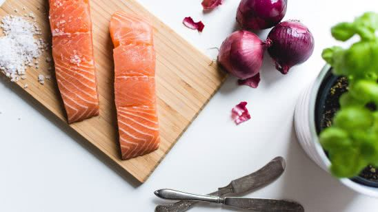 salmon fillets uhd 4k wallpaper