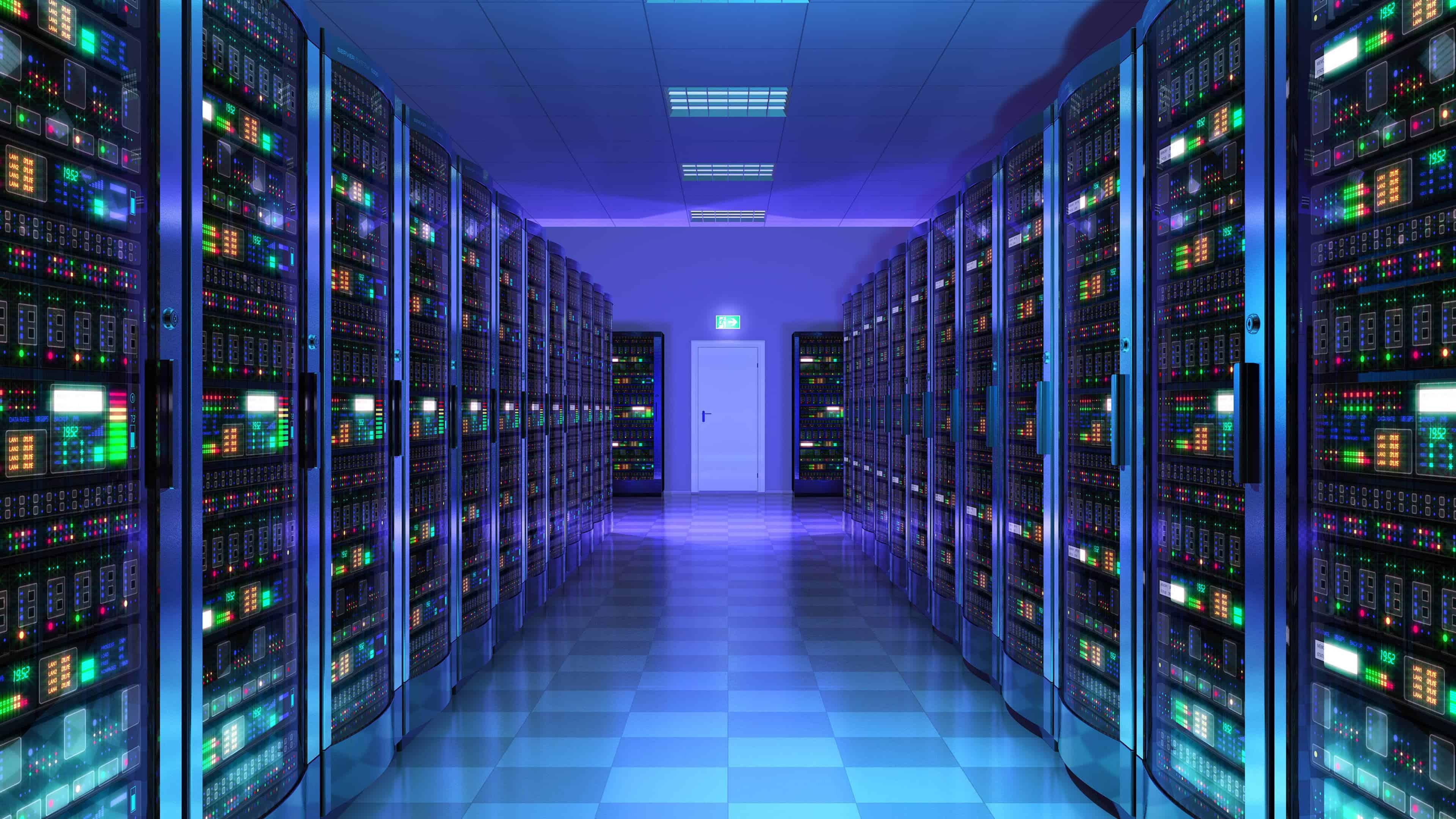 server room purple uhd 4k wallpaper