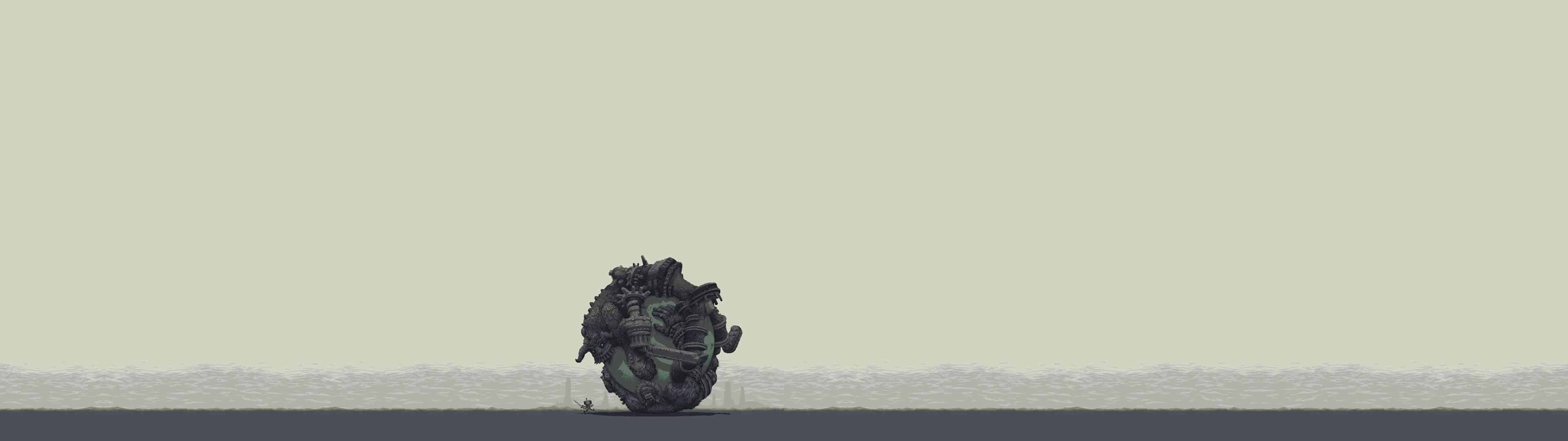 Shadow Of The Colossus 2 Dual Monitor Wallpaper Pixelz
