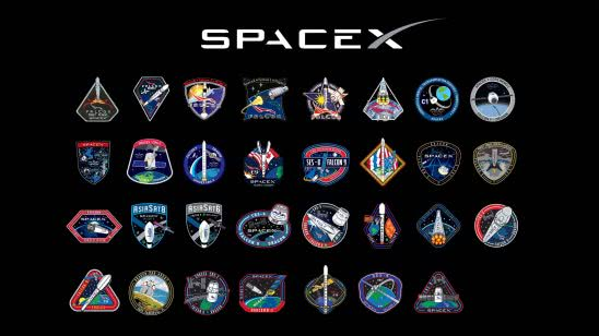 spacex patches uhd 4k wallpaper