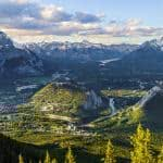 sulphur mountain banff national park canada uhd 4k wallpaper