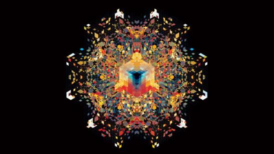 symmetry cube uhd 4k wallpaper