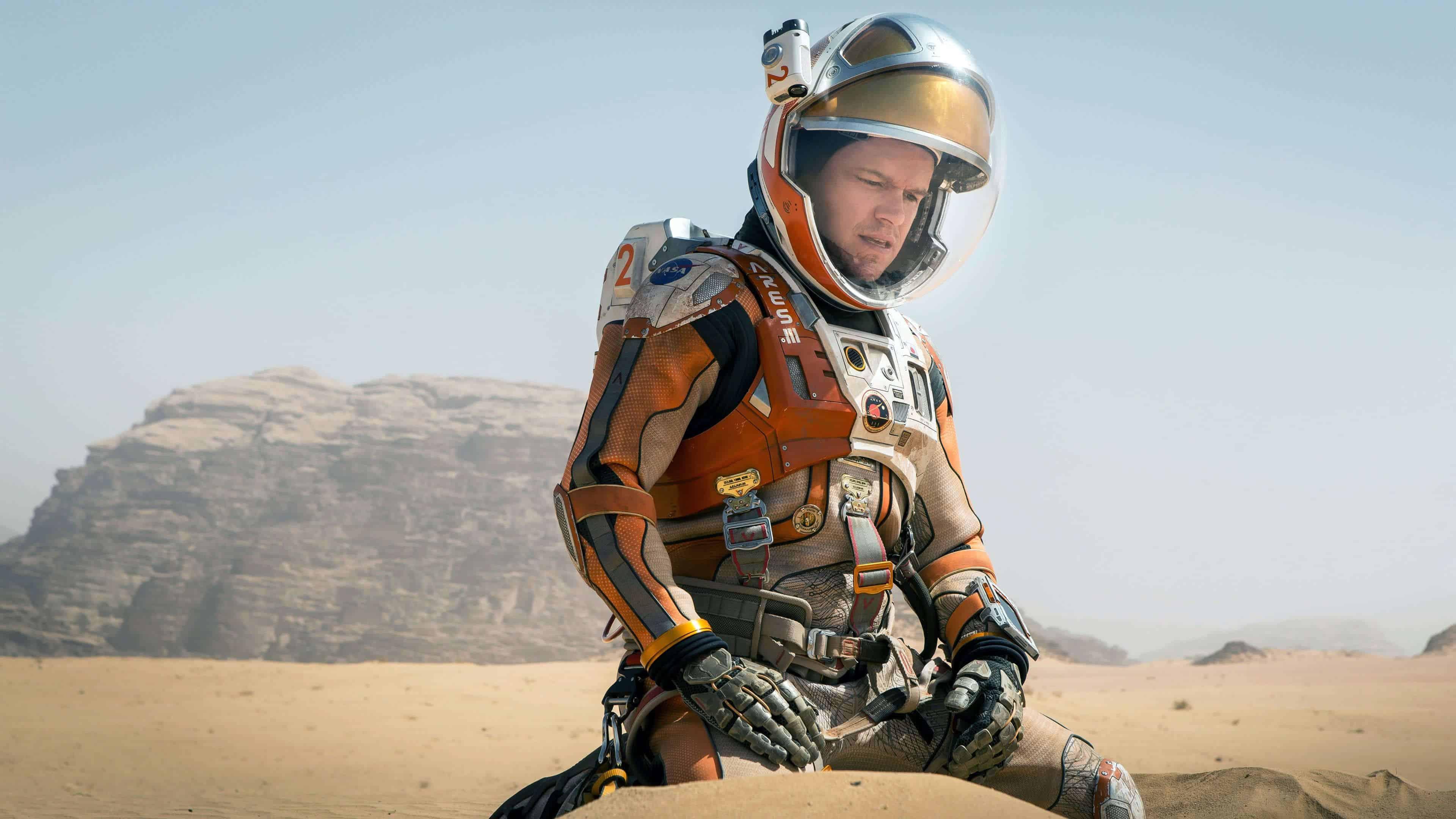 the martian mark watney matt damon uhd 4k wallpaper
