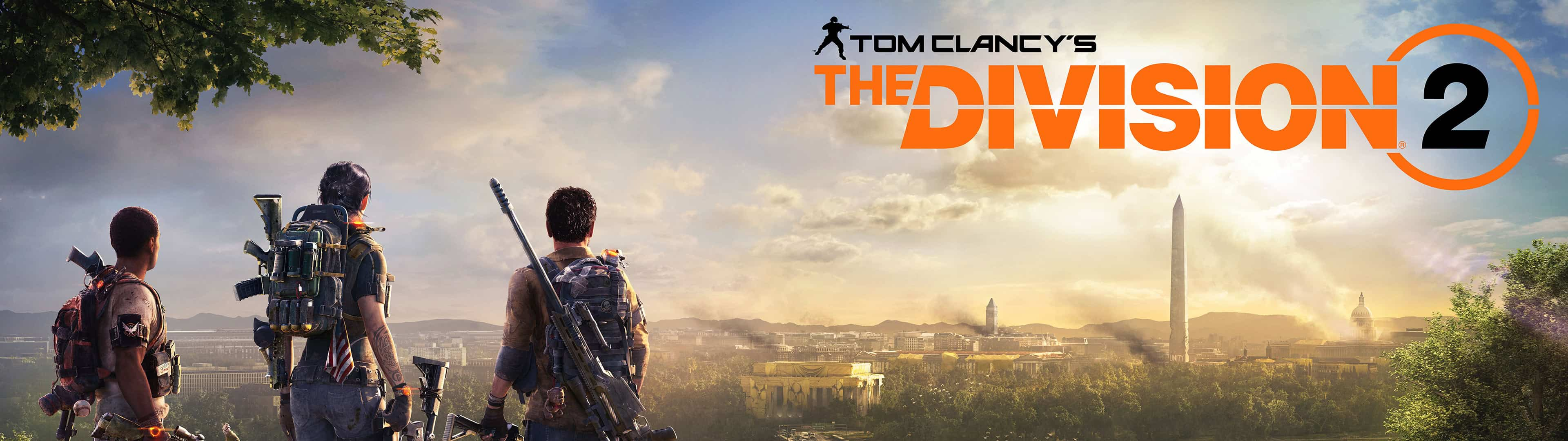 Tom Clancy The Division 2 Poster Dual Monitor Wallpaper | Pixelz