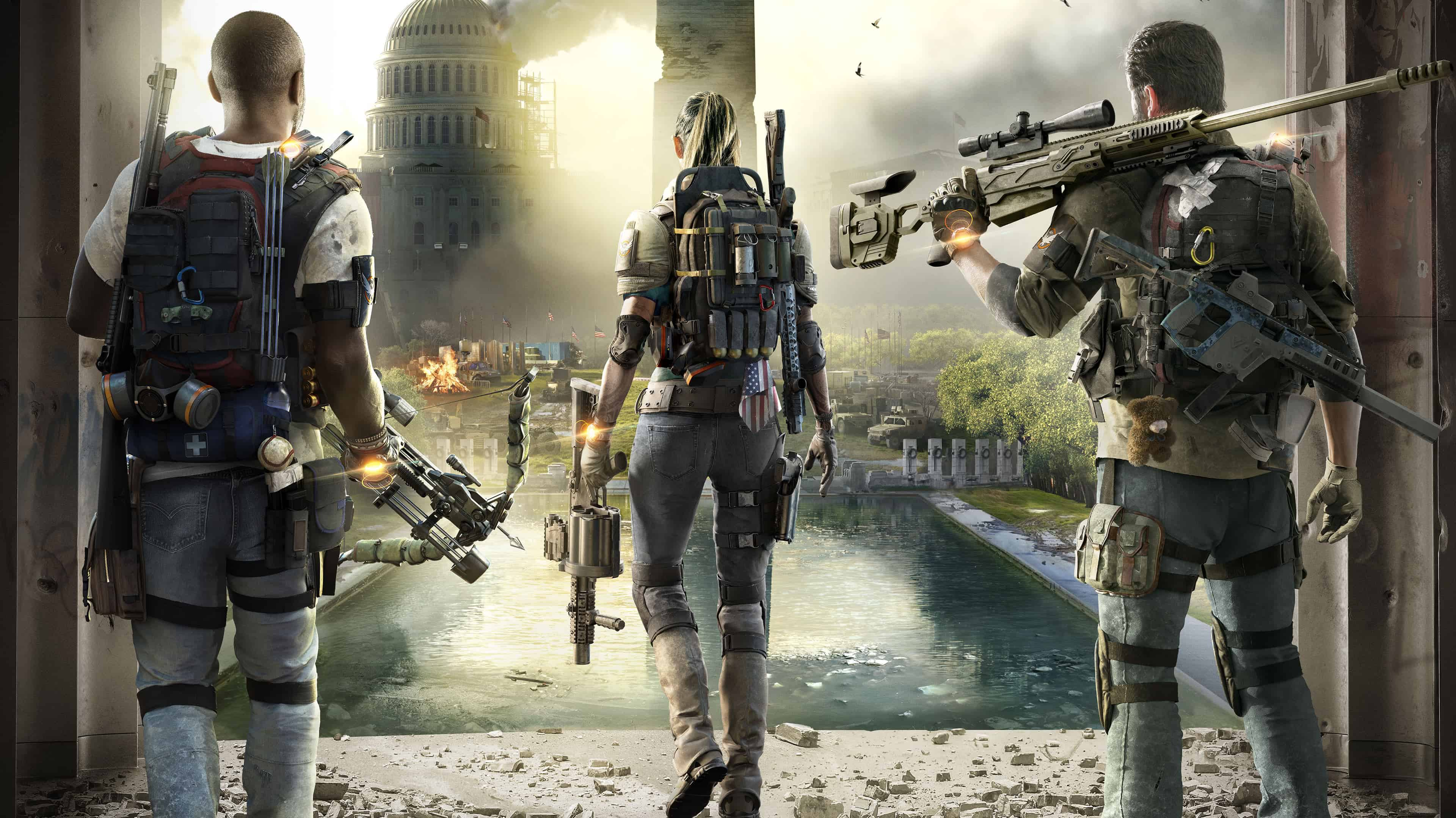 tom clancy the division 2 uhd 4k wallpaper