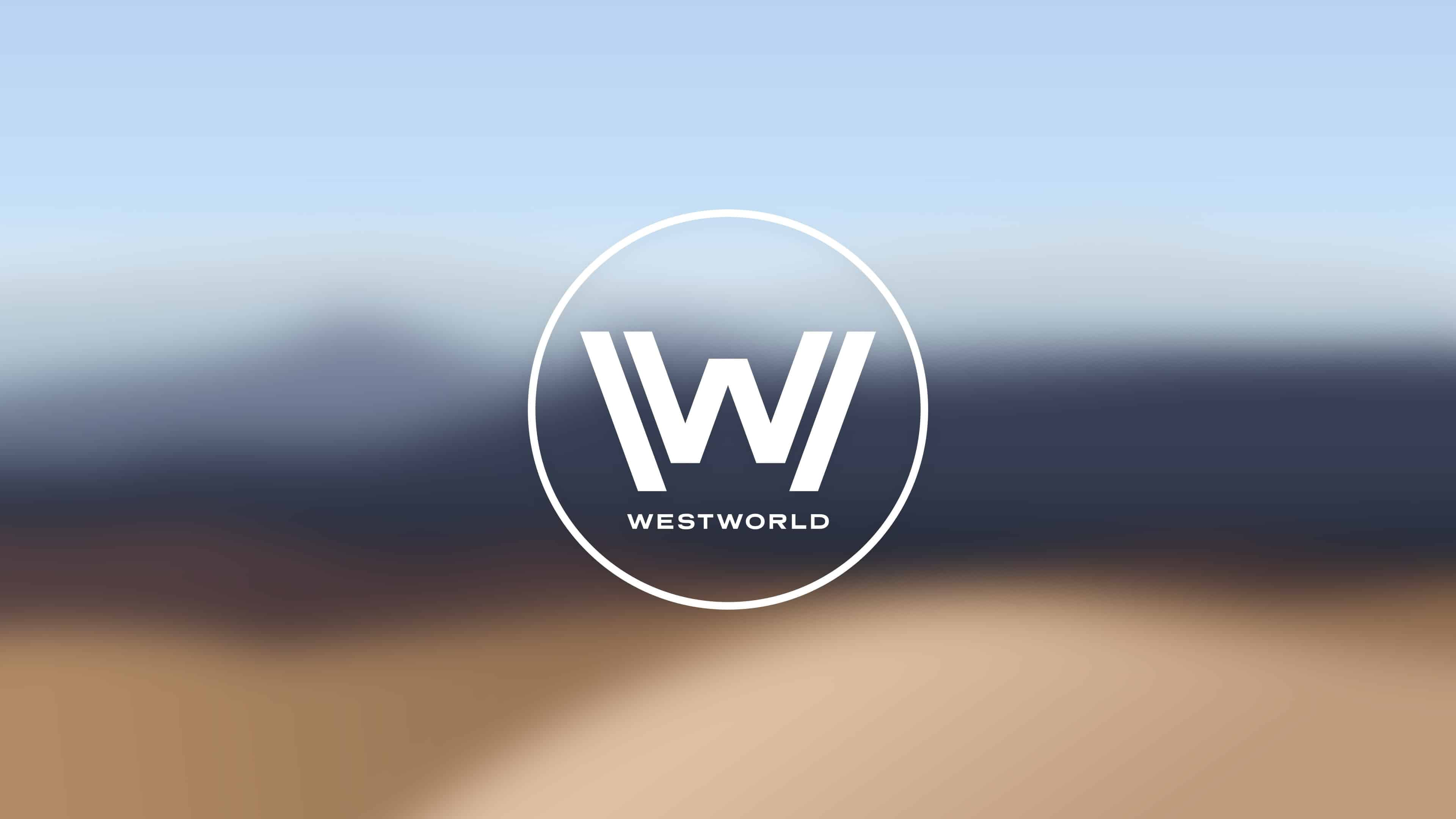 westworld logo uhd 4k wallpaper