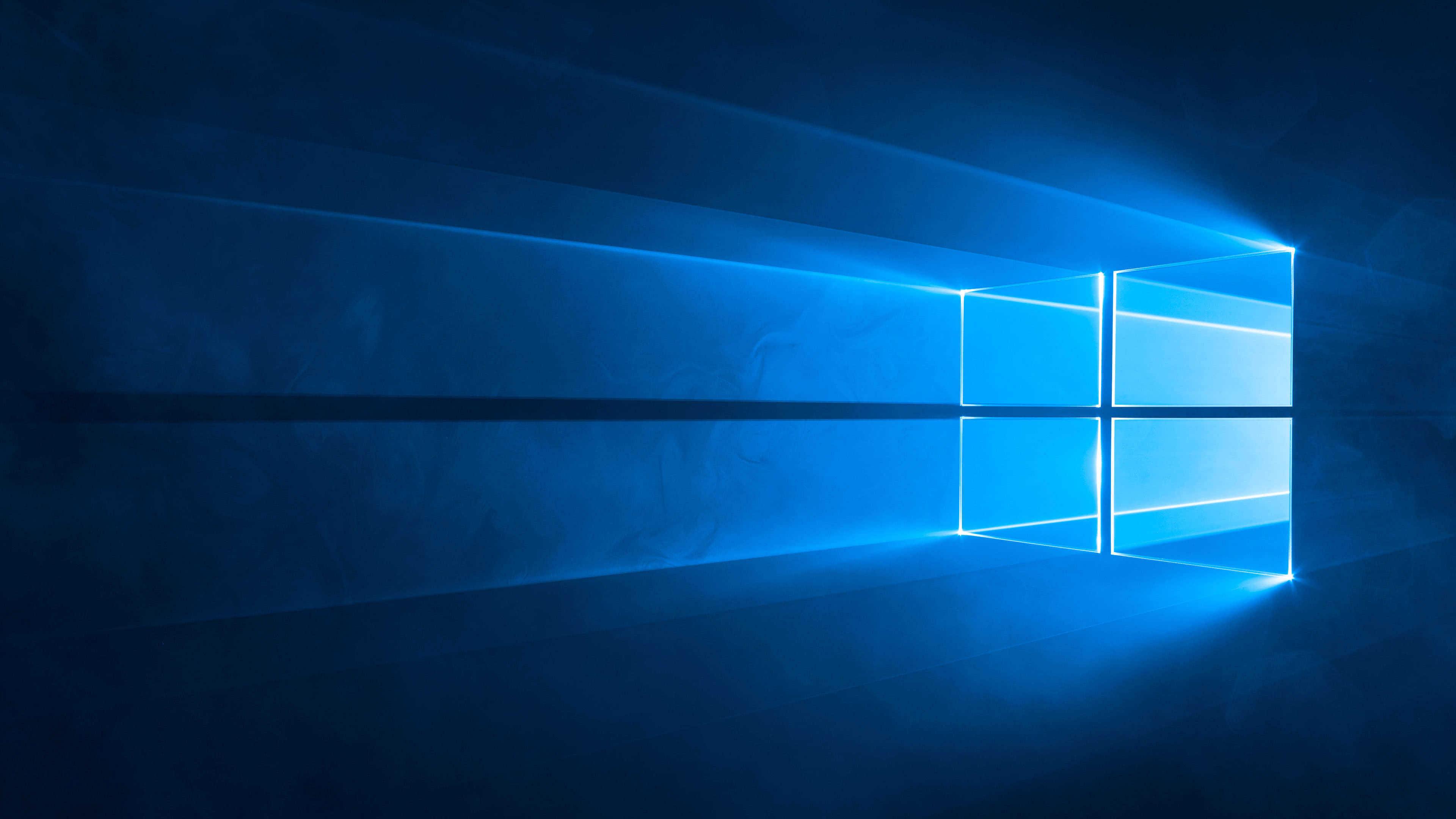 windows 10 logo uhd 4k wallpaper
