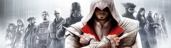 assassins creed brotherhood dual monitor wallpaper