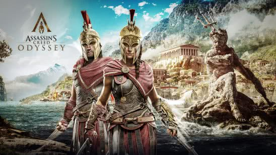 assassins creed odyssey alexios and kassandra uhd 8k wallpaper
