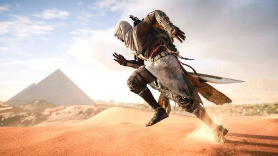 assassins creed origins bayek running uhd 4k wallpaper