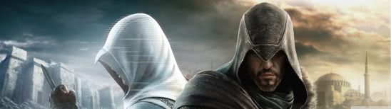 assassins creed revelations desmond miles dual monitor wallpaper