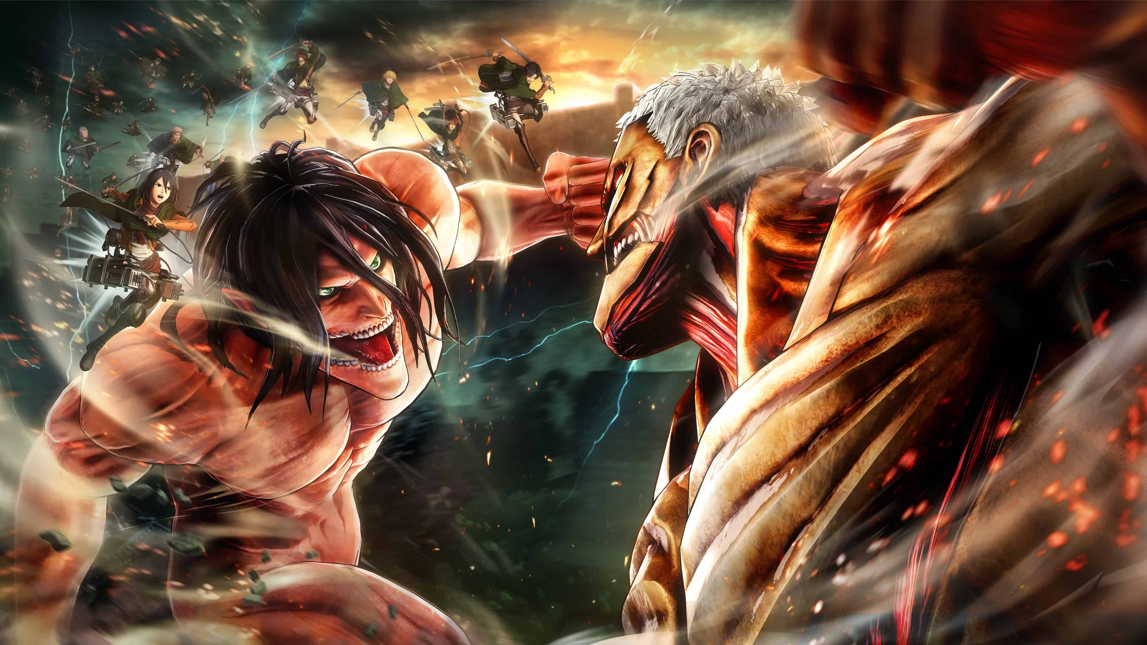Anime Wallpaper 4k Attack On Titan