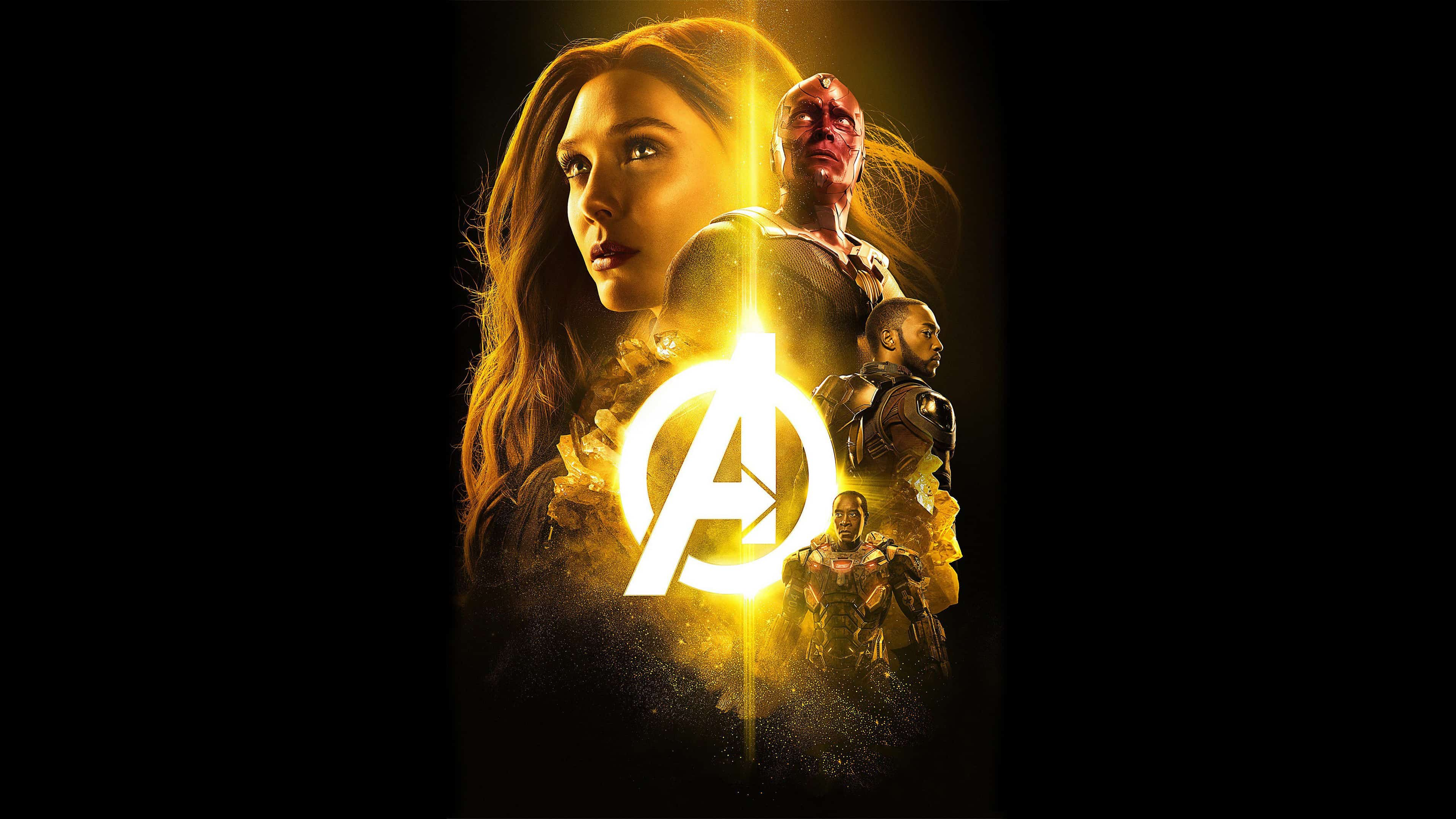 Avengers Infinity War The Mind Stone Poster Uhd 4k Wallpaper Pixelz