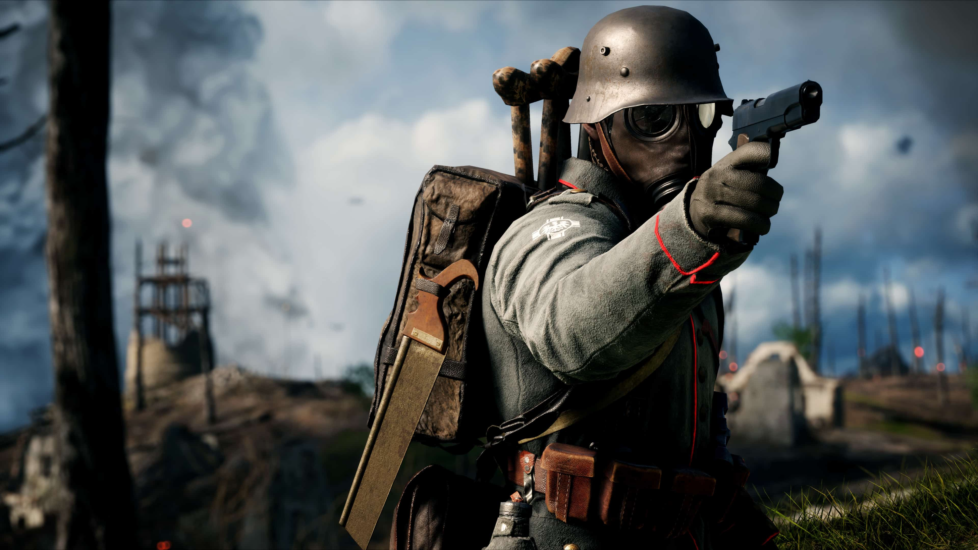 Battlefield 1 German Soldier Uhd 4k Wallpaper Pixelz