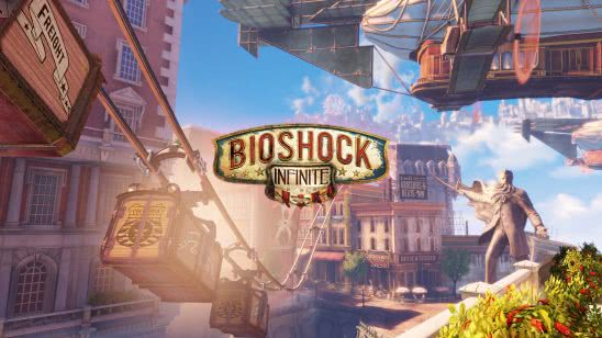 bioshock infinite logo uhd 4k wallpaper
