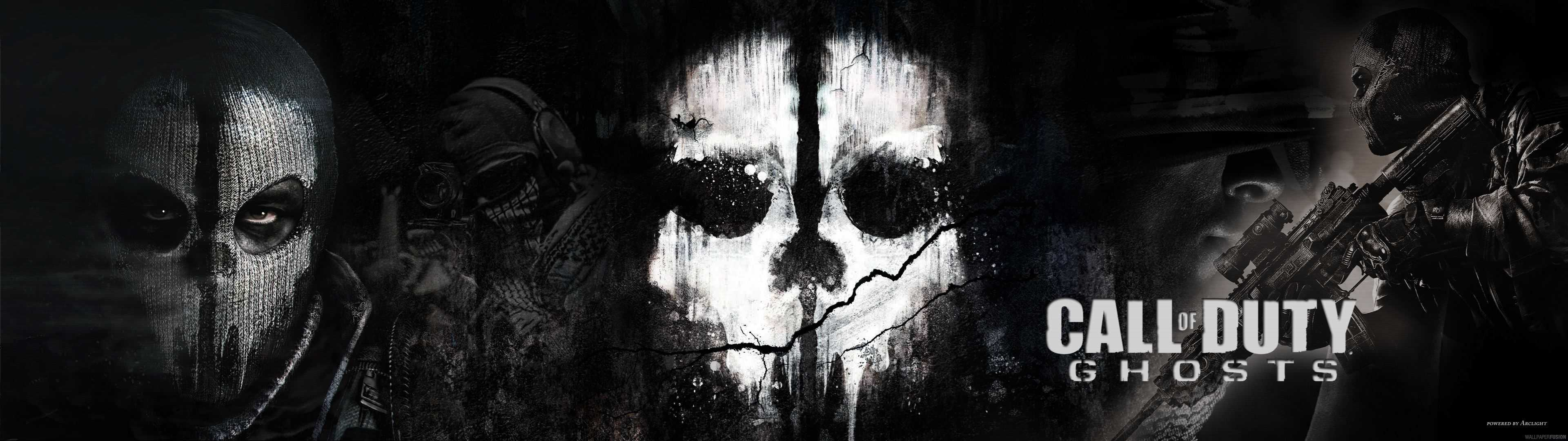 Call Of Duty Ghosts Dual Monitor Wallpaper Pixelz Cc