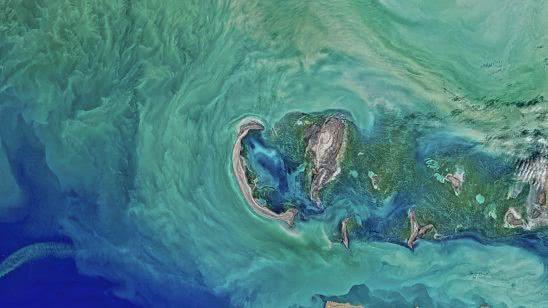 caspian sea satelite image uhd 8k wallpaper
