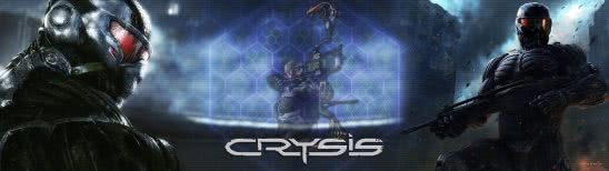 crysis dual monitor wallpaper