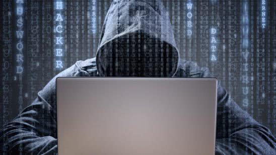 cybersecurity hacker with laptop uhd 4k wallpaper