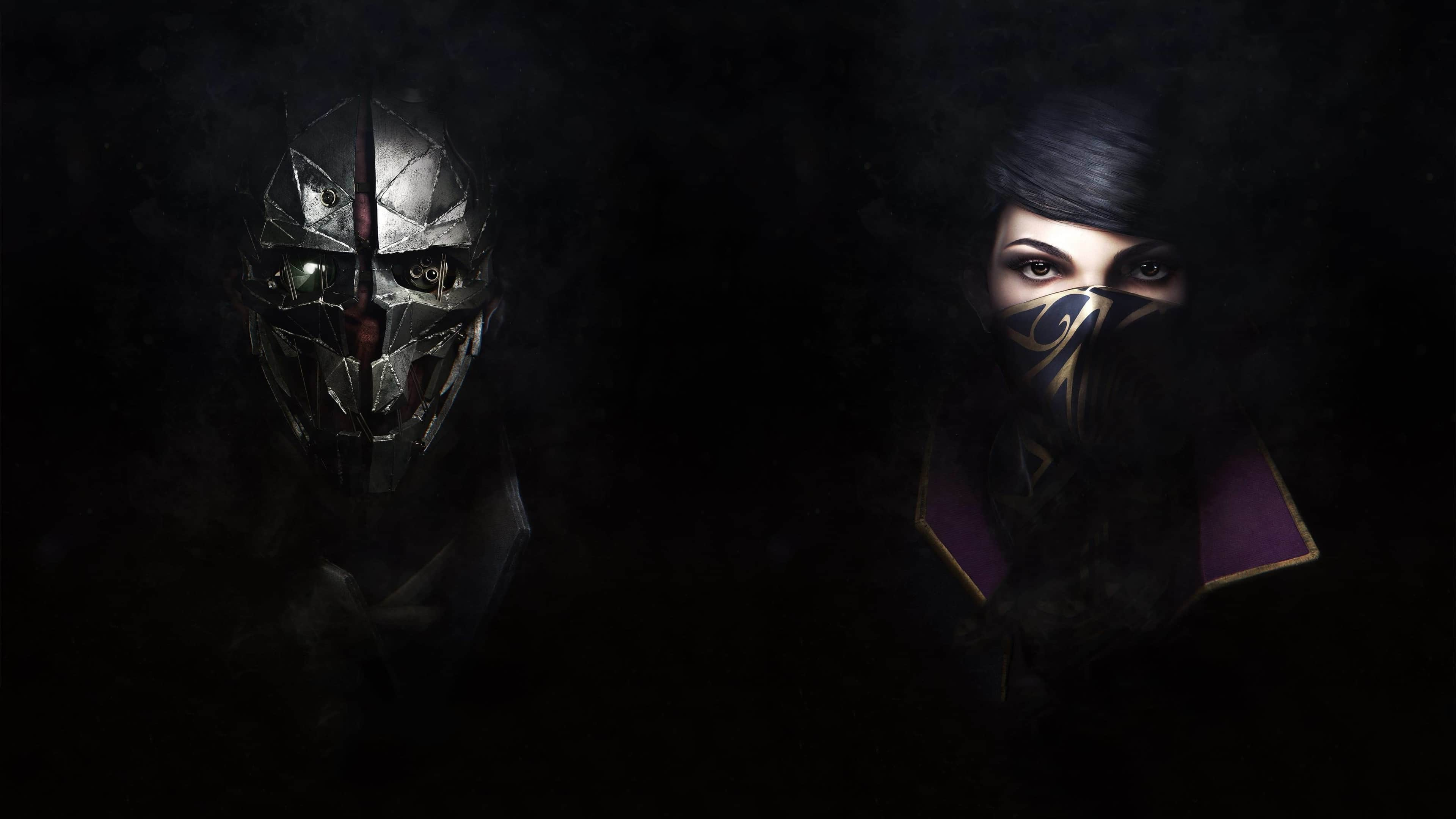 Dishonored Wallpaper 4k: Dishonored 2 Emily And Corvo UHD 4K Wallpaper