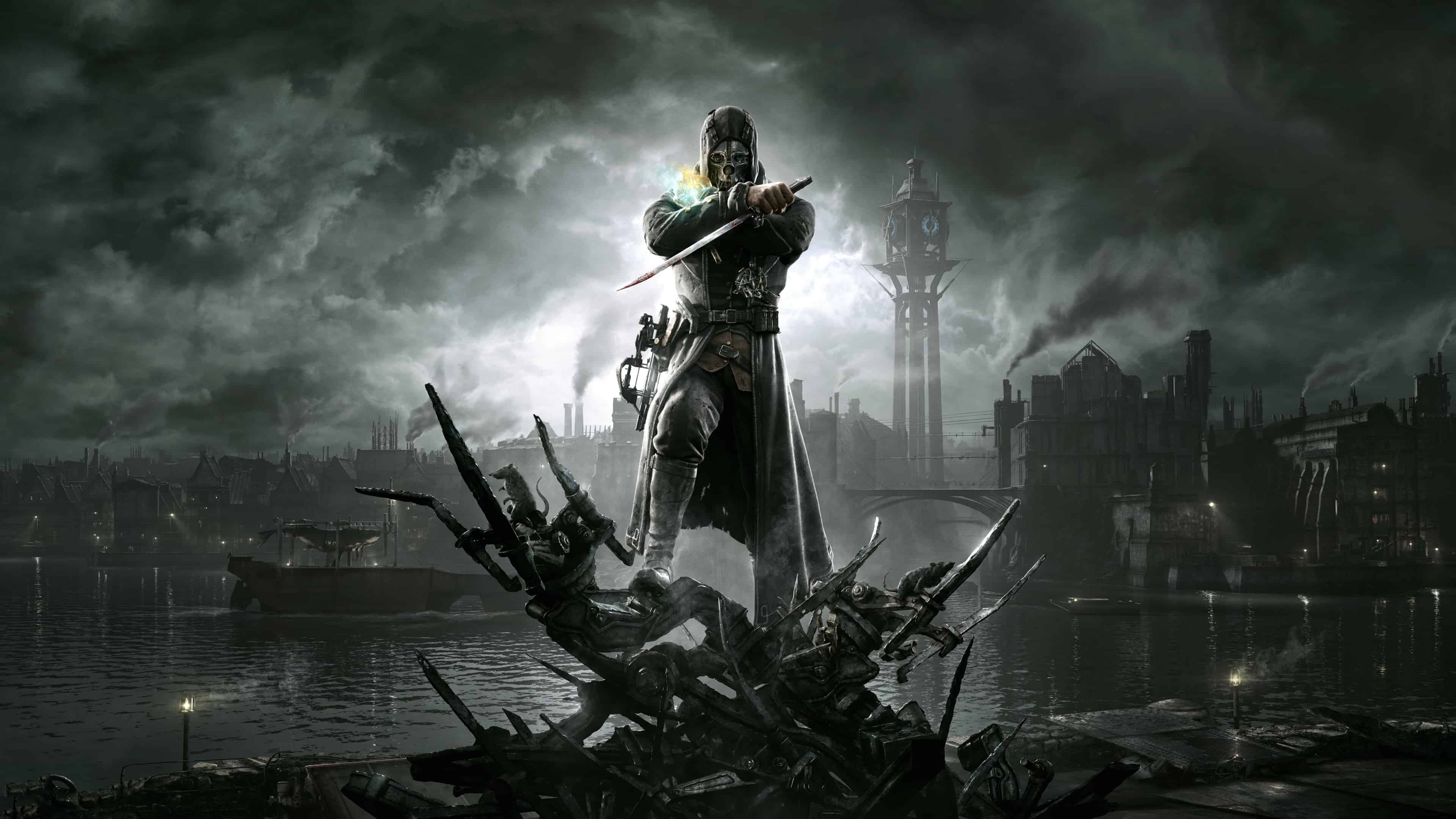 dishonored cover uhd 4k wallpaper