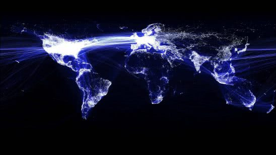 facebook world map wqhd 1440p wallpaper
