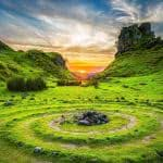 Fairy Glen Isle Of Skye Scotland