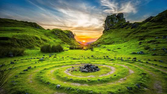 fairy glen isle of skye scotland uhd 4k wallpaper