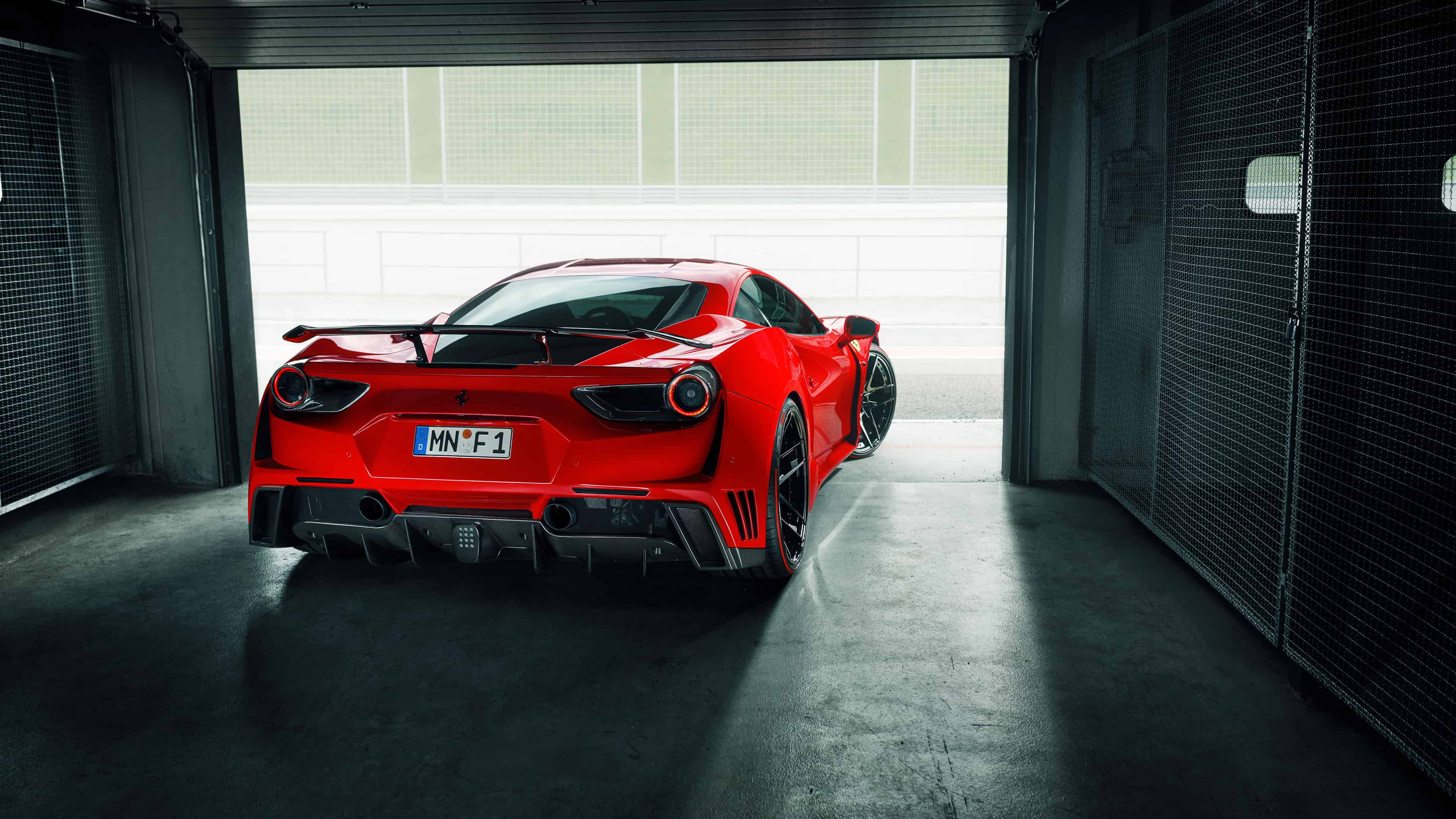 Ferrari 488 Gtb Back Uhd 4k Wallpaper Pixelz