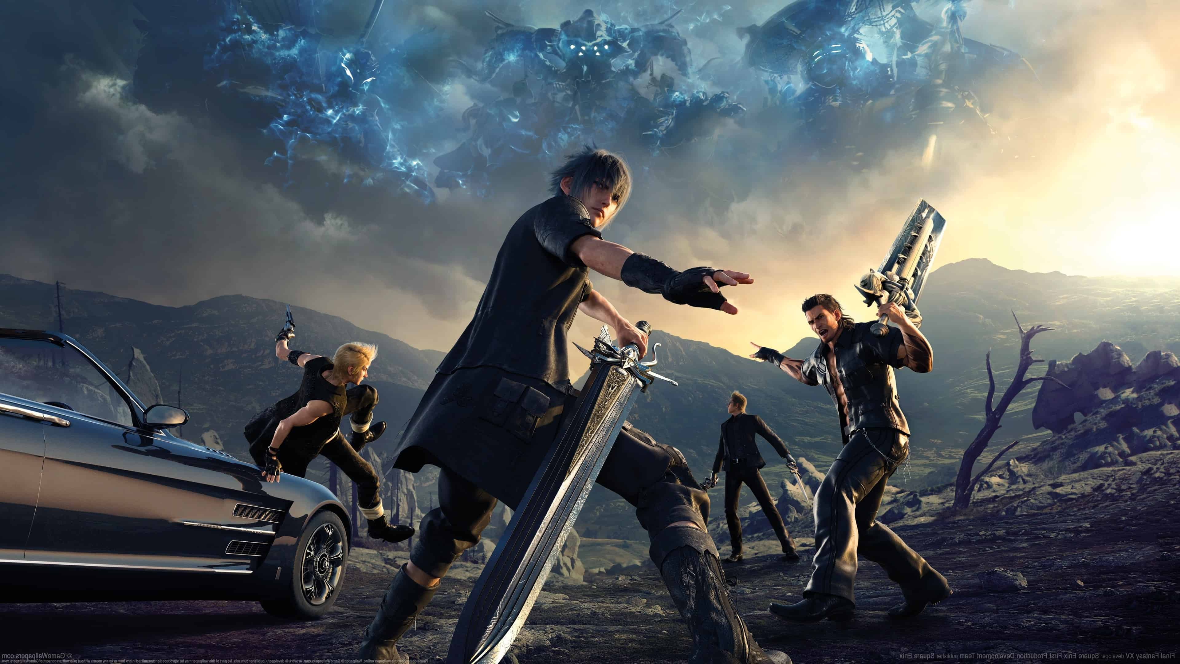 Final Fantasy Xv 4k Ultra Hd Wallpaper: Final Fantasy XV UHD 4K Wallpaper