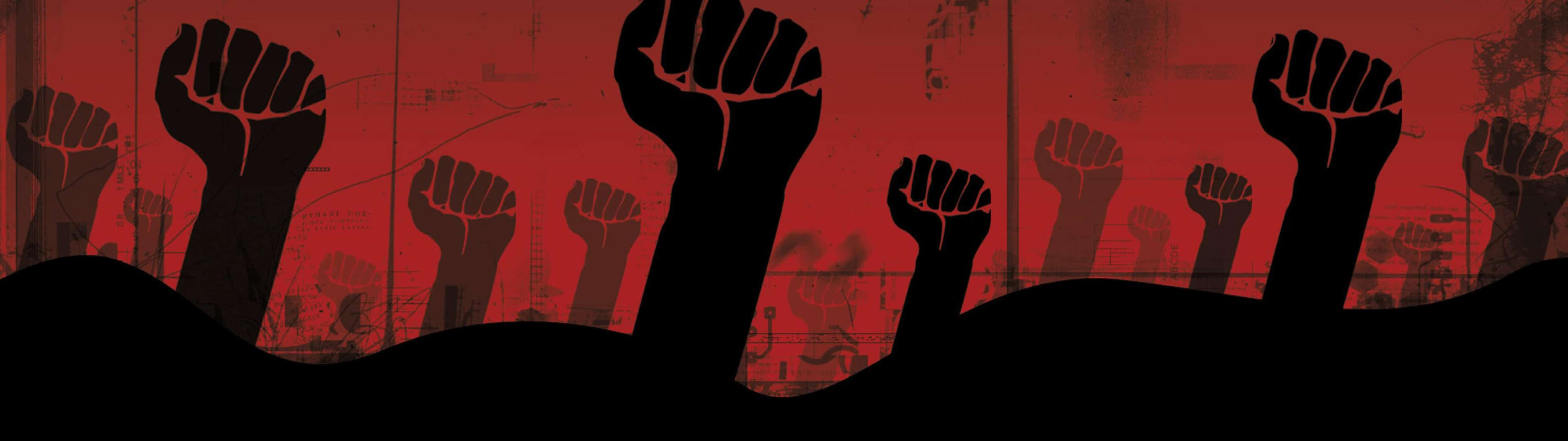Fists Of Freedom Revolution Dual Monitor Wallpaper