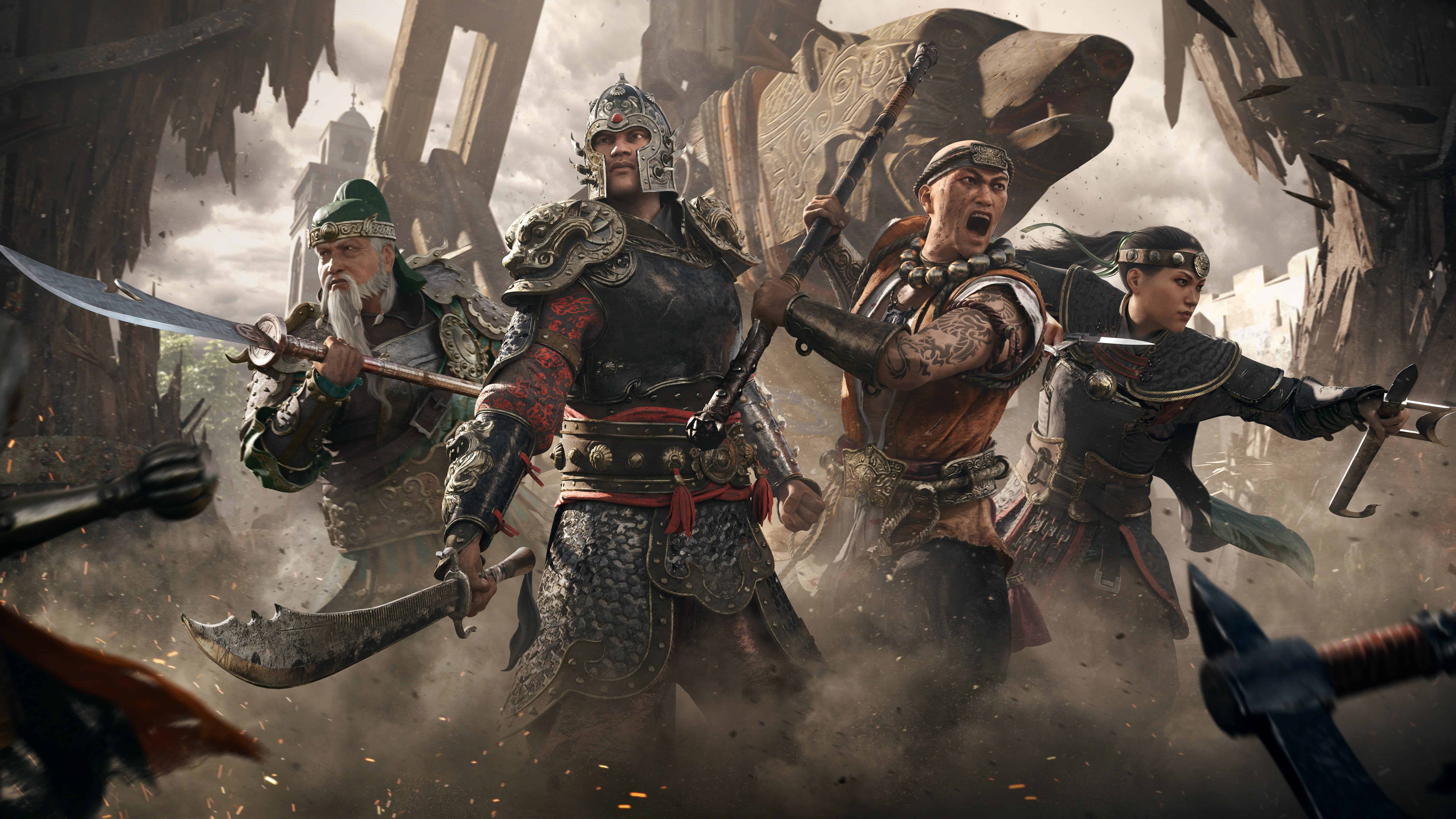 for honor marching fire expansion uhd 8k wallpaper